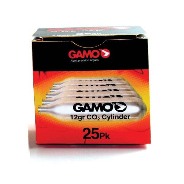 Gamo CO2 12gr cylinders for CO2 pistols and rifles