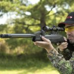 Swarm Maxxim .22 caliber 10-shot break barrel air rifle