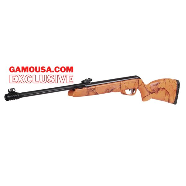 Camo Rocket Orange Pellet Rifle