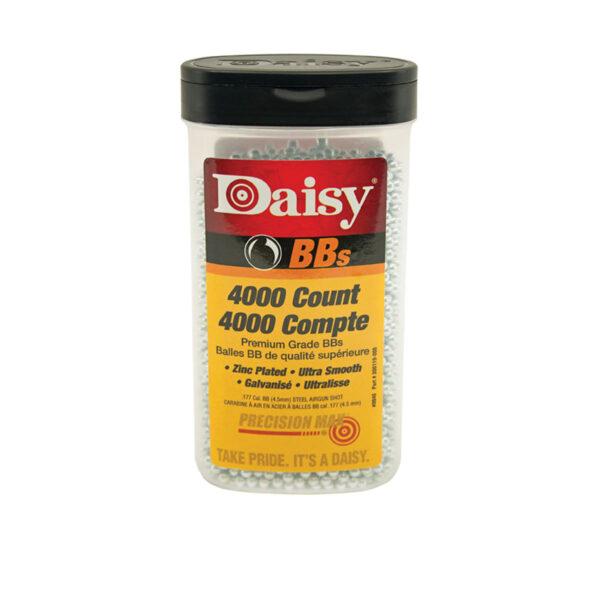 Daisy 4,000 BBs Zinc Plated Ammo