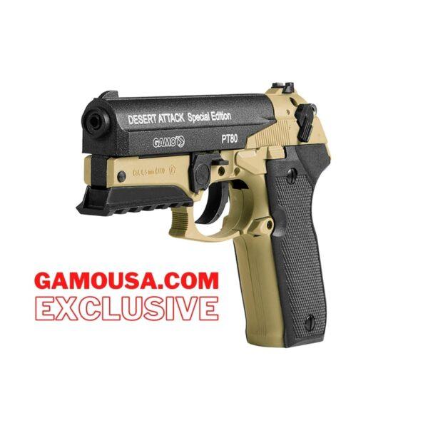 Gamo PT-80 Desert Attak CO2 Pellet Pistol